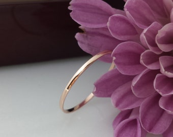Thin spacer ring 14kt wedding band spacer ring 1mm palladium white gold Rose gold wedding white gold slim spacer band Solid gold platinum