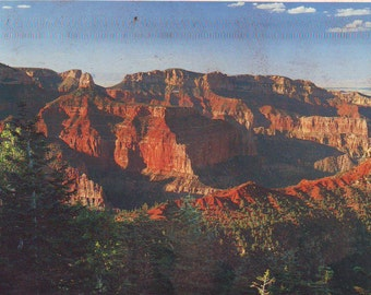 Vintage Grand Canyon National Park, Arizona,  Stamped Post Card, 1987