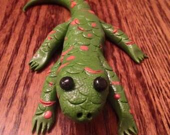 Adorable Clay Lizard