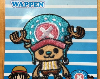 """One Piece """"Tony Tony Chopper"""" Large Iron-on Licensed Official Patch"""