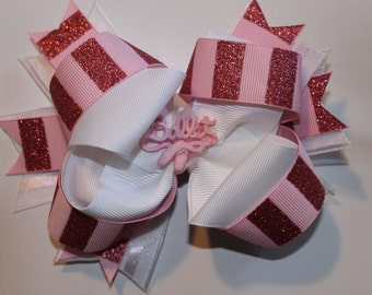 Ballet boutique style hair bow