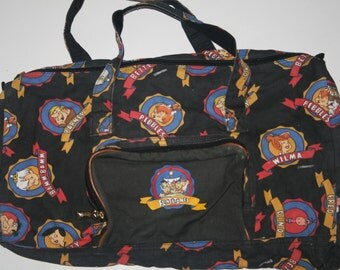 The Flintstones vintage 1994 duffel bag