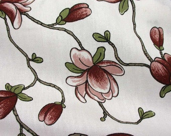 cotton fabric canvas magnolia antique pink Lilliflora Arvidssons