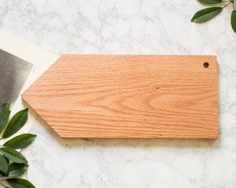 Oak Arrow Serving Board