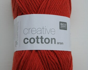 Rico Creative Cotton Aran Fox 077