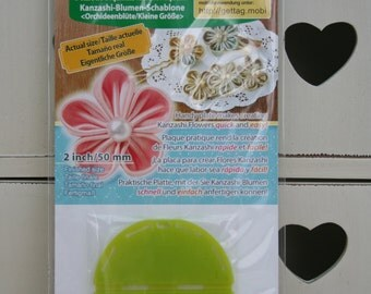 Clover Kanzashi Flower Maker Orchid Petal Small 8486 2in