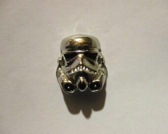 3D Storm Trooper Hat Pin
