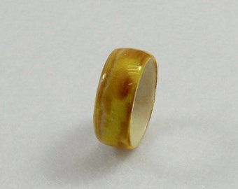 Fall Wrapped Paper Ring