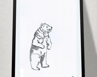 Bear Print Design
