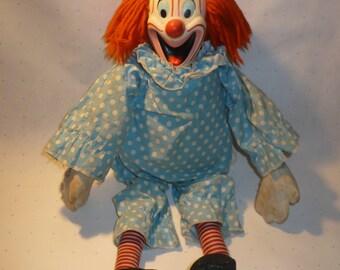 1963 Talking Bozo doll,