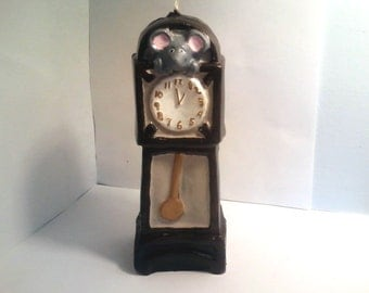 Grandfather Clock Candle
