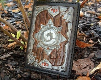 Sale 20 %, Leather Passport Cover With Hearthstone leaders
