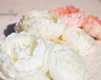 Beautiful bridal flower comb,wedding hair Accessories , Bridal hair comb,Wedding accessory
