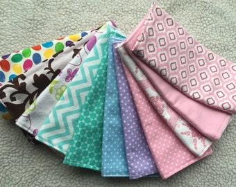 Burp Cloths - Set of 4