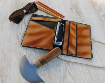 Leather Organizer,Leather Notebook,Leather iPhone Case,iPad mini Case,Leuchturm 1917 Case,Field Notes Leather Cover,Leather Planner,Journal