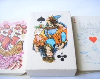 Russian Playing Cards. 1991 year. Full set. 54 pieces .