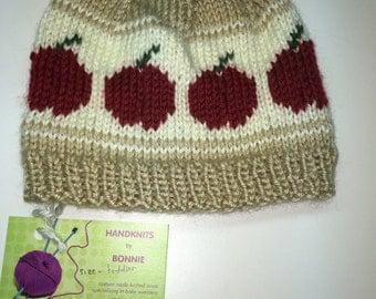 Toddler's Apple hat
