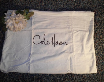 Authentic Cole Haan Handbag Dust Bag Sleeper Protective Purse Pouch Drawstring Cover