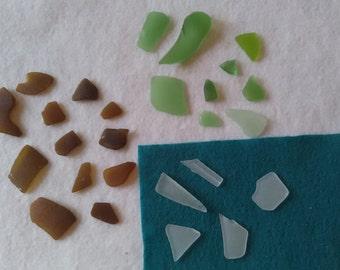 Genuine Surf Tumbled Beach Sea Glass! Crafts! Mosaics! Beach Art Decor!