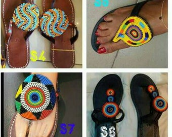 Beautiful African Slippers
