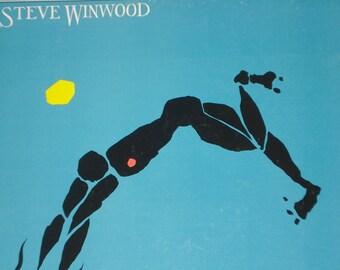Steve Winwood record album, Arc Of A Diver vintage vinyl record