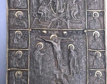 Old Bizantine Orthodox icon