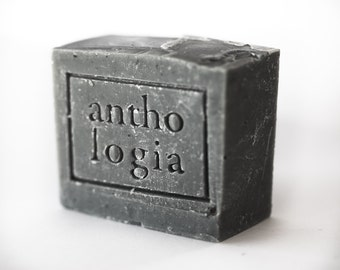 Activated Charcoal & Tea Tree Cold-Process Soap Bar