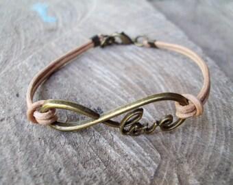Infinity bracelets,Charm bracelets,Leather bracelets