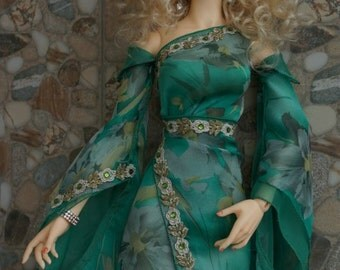 Oriental dress set for BJD SOOM Supergem dolls