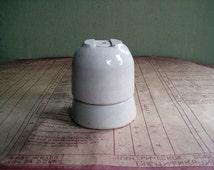 Porcelain Lamp Sockets, Porcelain Cartridges For light Bulbs,Soviet vintage 70s