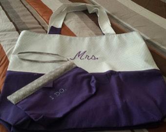 MRS Tote w/clutch bag