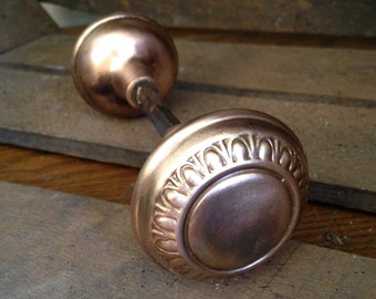 Antique Brass  doorknob