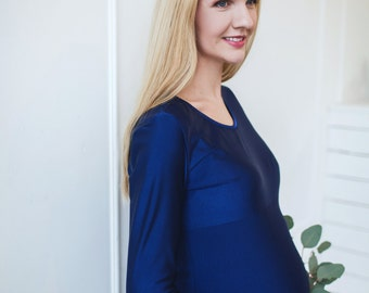 "Maternity dress ""Blue.Blue"""