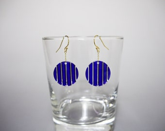 tokoba earrings A-stripe