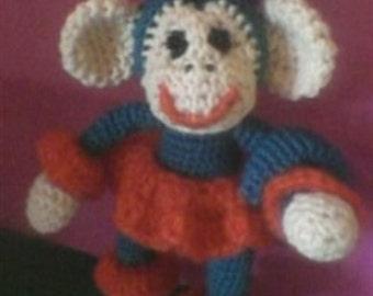 Monkey amigurumi Обезьяна амигуруми