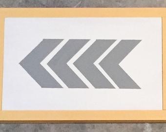 4 Arrows, Modern Wall Decor, Nursery Wall Decor, Geometric