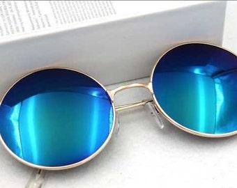 John Lennon Style Round Sunglasses