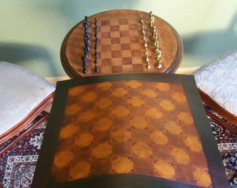 Handmade Leather Chess Board