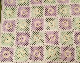 Beautiful baby blanket/afghan