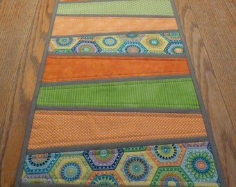 Dresden Quilted Table Runner