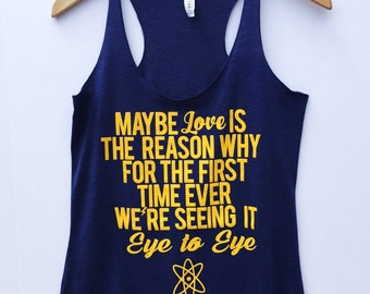 Eye to Eye Racerback Tank