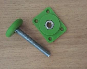 4 adjustment feet printed for green furniture