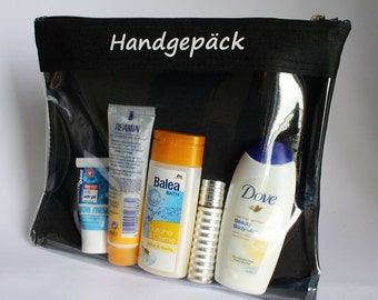 Toiletry bags | Washbag | Air travel |