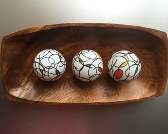 L&E Art Spheres with Tray