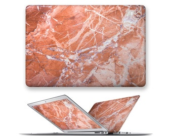 macbook decal rubberized front hard cover for apple mac macbook air pro touch bar 11 12 13 15 marble gemstone pattern
