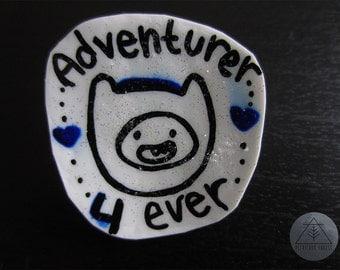 glittery adventurer 4 ever Finn pin