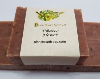 Tobacco Flower Soap Bar