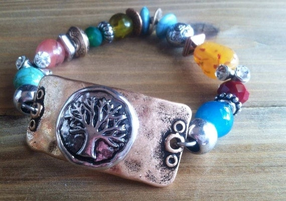 Tree of Life Bracelet from WrapItUpBoutique