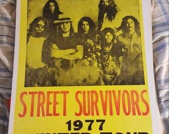 Lynyrd Skynyrd concert  poster