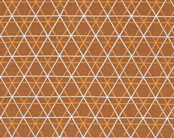 "FreeSpirit      ""Highline""  A-Line  Brown Cotton Fabric   by Erin McMorris"